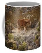 Wild Horse At Cold Creek Coffee Mug