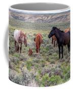Wild Horses Of White Mountain Coffee Mug