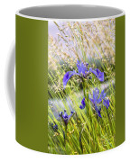 Wild Irises Coffee Mug by Marty Saccone