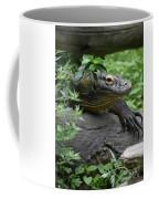 Wild Komodo Dragon Crawling Through Nature Coffee Mug