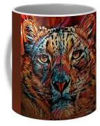 Wild Leopard Coffee Mug