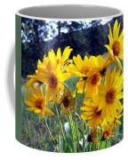 Wild Okanagan Sunflowers Coffee Mug