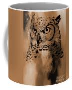 Wild Owl Eyes Coffee Mug