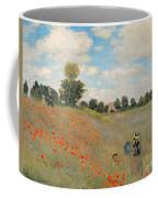 Wild Poppies Near Argenteuil Coffee Mug