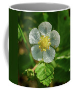 Wild Strawberry Flower Coffee Mug