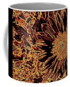 Wild Sunflower Abstract Coffee Mug