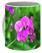 Wild Sweet Pea Coffee Mug