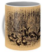 Wild Turkeys Coffee Mug by Bill Cannon