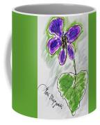 Wild Violet  Coffee Mug