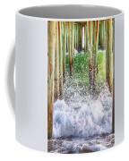 Wild Waves Under The Boardwalk Coffee Mug