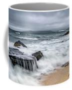 Wild Weather At Geodha Mhartainn On The Isle Of Harris Coffee Mug