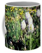 Wild White Puffs Coffee Mug