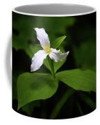 Wild White Trillium Coffee Mug