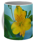 Wild Yellow Lilly Coffee Mug