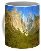 Wild Yosemite - Abstract Modern Art Coffee Mug
