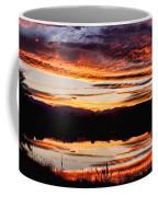 Wildfire Sunset Reflection Image 28 Coffee Mug