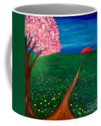 Wildflower Country Road Coffee Mug
