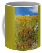 Wildflower Meadow With Indian Paintbrush Coffee Mug