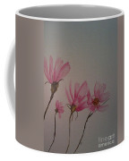 Wildflower Pink Coffee Mug by Ginny Youngblood