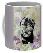 Wildflower Pug Coffee Mug
