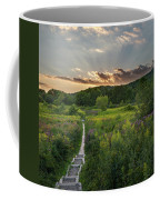 Wildflower Sunset 2016 Square Coffee Mug
