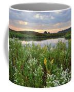 Wildflowers Adorn Nippersink Creek In Glacial Park Coffee Mug