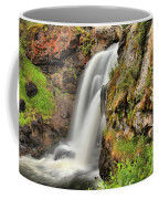 Wildflowers At Moose Falls Coffee Mug