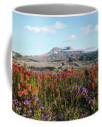 Wildflowers At Mount St Helens Coffee Mug