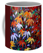 Wildflowers At Sunset Coffee Mug