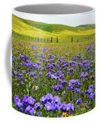 Wildflowers Carrizo Plain Coffee Mug