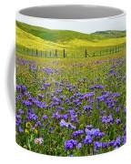 Wildflowers Carrizo Plain National Monument Coffee Mug