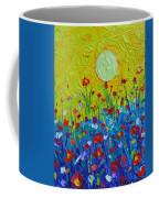 Wildflowers Meadow Sunrise Coffee Mug