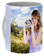 Wildlife Photographer Shooting Insects And Nature Coffee Mug