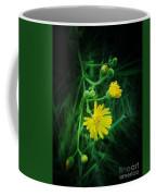 Wildly Yellow Coffee Mug
