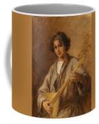 Wilhelm Amardus Beer, Portrait Of A Musician Boy Coffee Mug