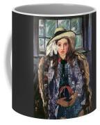 Wilhelmine With Ball 1915 Coffee Mug