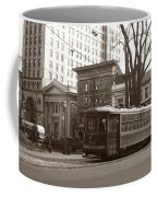 Wilkes Barre Pa Public Square Oct 1940 Coffee Mug