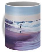 Will Rogers Beach Coffee Mug