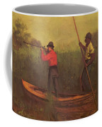 Will Schuster And A Black 1876 Coffee Mug