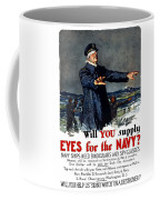 Will You Supply Eyes For The Navy Coffee Mug by War Is Hell Store
