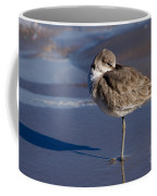 Willet Resting At The Beach Coffee Mug