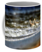 Willets In The Waves Coffee Mug