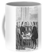 William Harvey Explaining Blood Coffee Mug