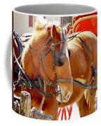 Williamsburg Carriage Horse Coffee Mug