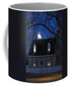 Williamsburg House In Moonlight Coffee Mug