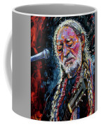 Willie Nelson Portrait Coffee Mug