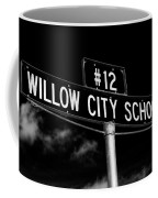 Willow City School Sign Coffee Mug