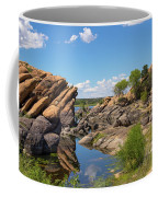 Willow Lake And Granite Dells Coffee Mug