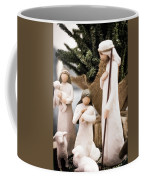Willow Tree Nativity At Christmas Coffee Mug