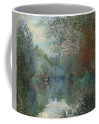 Willows At The Edge Of The Yerres Coffee Mug